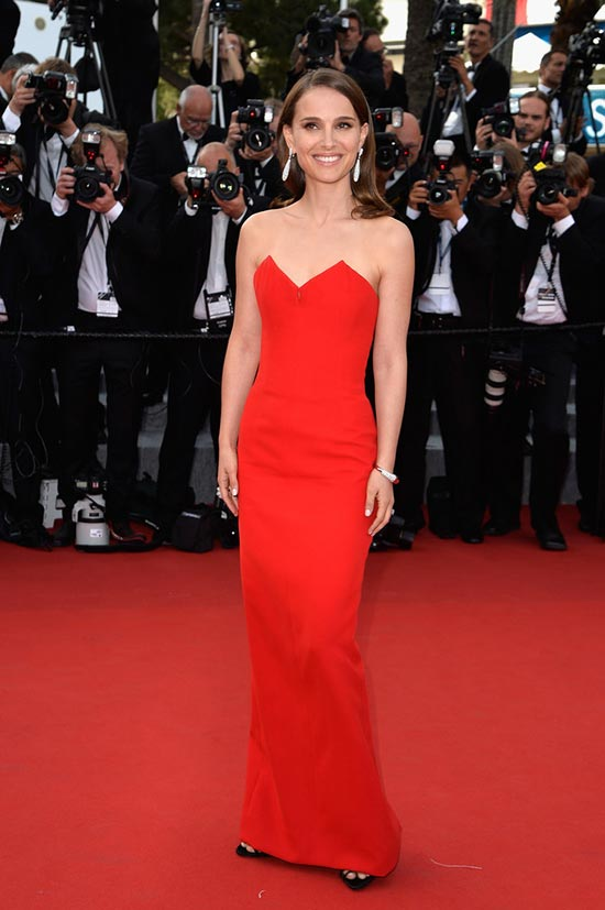 Cannes 2015 Opening Ceremony Red Carpet Fashion: Natalie Portman