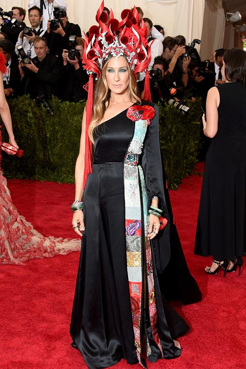Met Gala 2015 Red Carpet Fashion: Sarah Jessica Parker