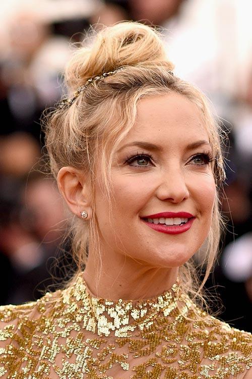 Met Gala 2015 Hairstyles & Makeup: Kate Hudson