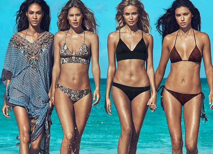 H&M Summer 2015 Swimwear Campaign