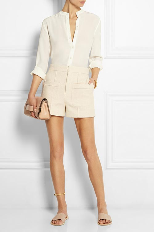 Dressy Office Shorts To Wear To Work: Chloe