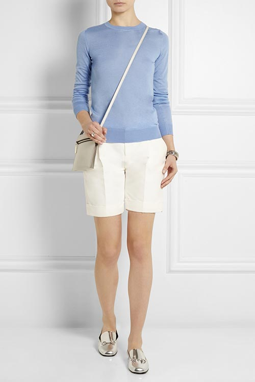 Dressy Office Shorts To Wear To Work: Gucci