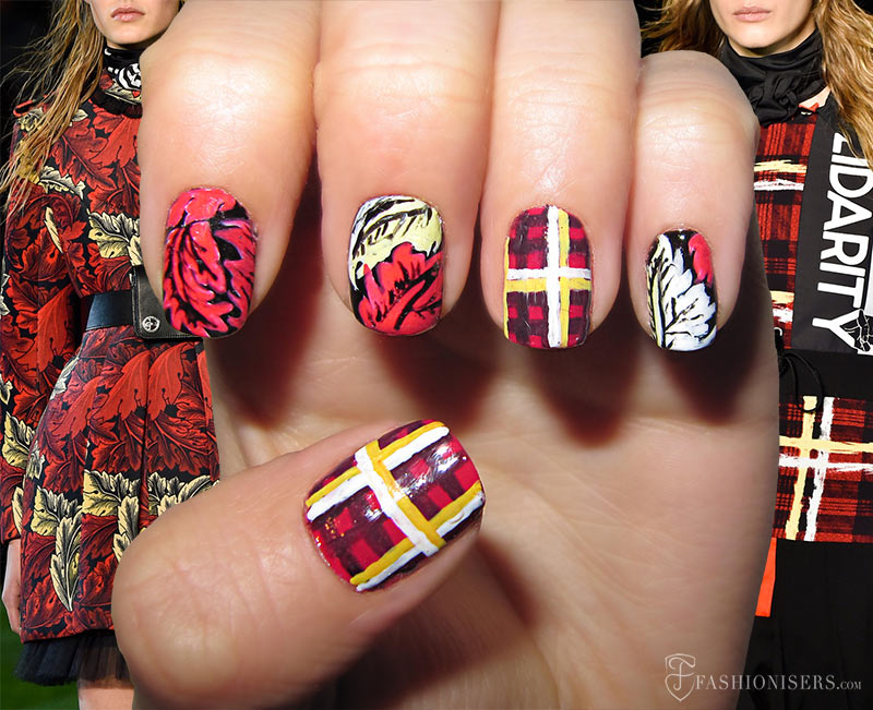 Fall 2015 Runway Inspired Nail Art Designs: Marc by Marc Jacobs