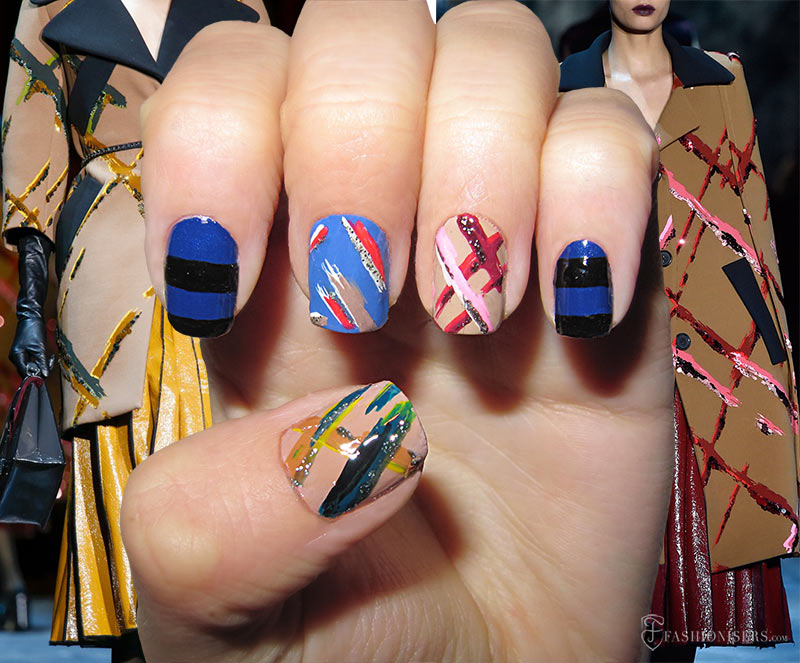 Fall 2015 Runway Inspired Nail Art Designs: Marc Jacobs