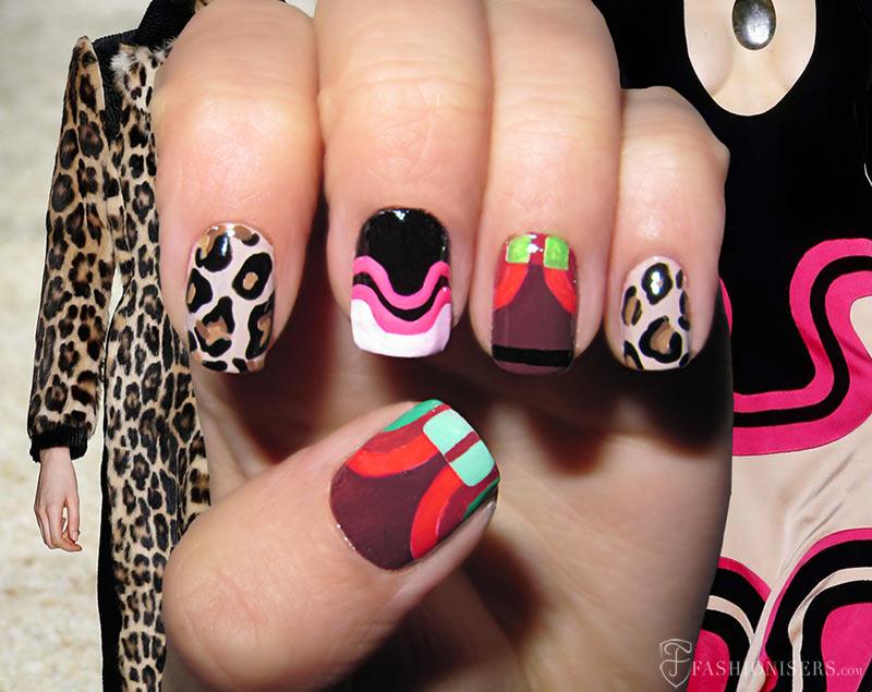 Fall 2015 Runway Inspired Nail Art Designs: Tom Ford