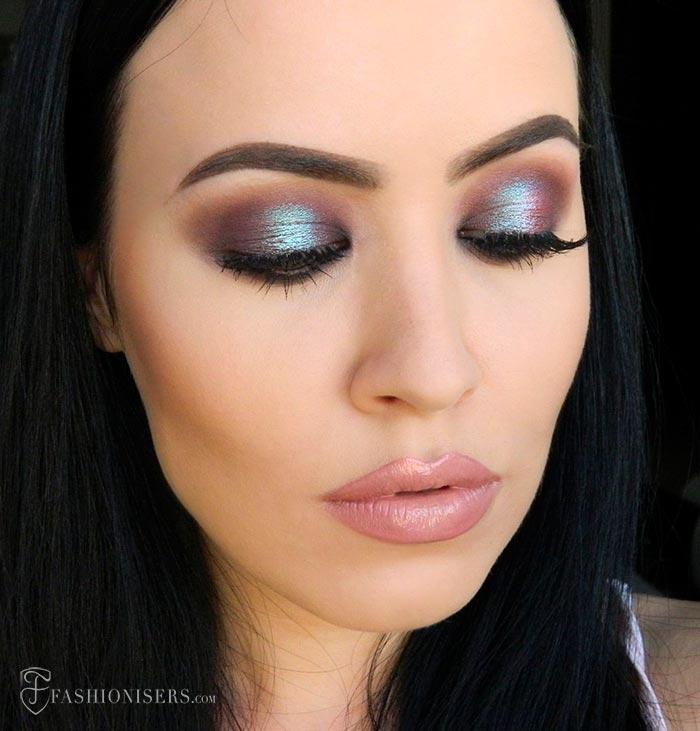 Metallic Eggplant Eye Makeup Tutorial