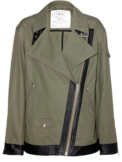 7 Military Pieces To Shop For Summer 2015: Alexander McQueen Jacket