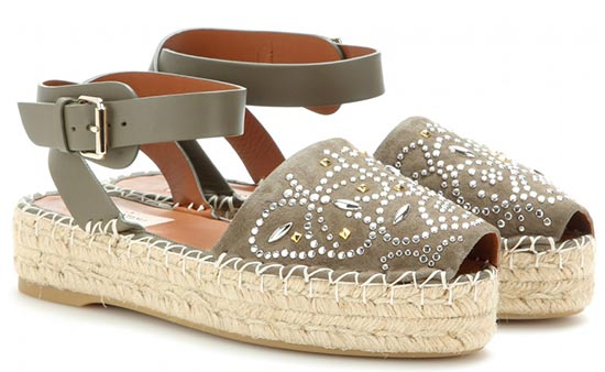 7 Military Pieces To Shop For Summer 2015: Valentino Espadrilles