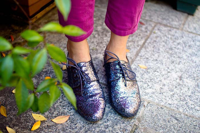 5 Stylish Alternatives to Comfy Flats: Paillattes Derby shoes