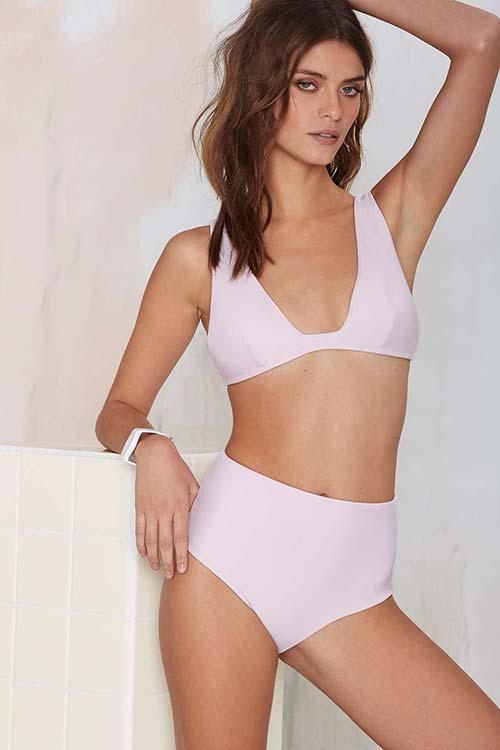 High-Waisted Bikini Sets For 2015: Nasty Gal