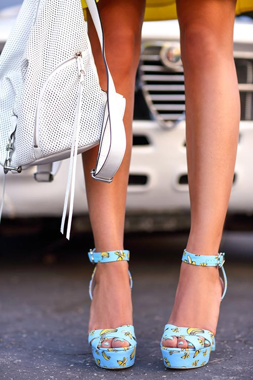 How to Wear Platform Shoes