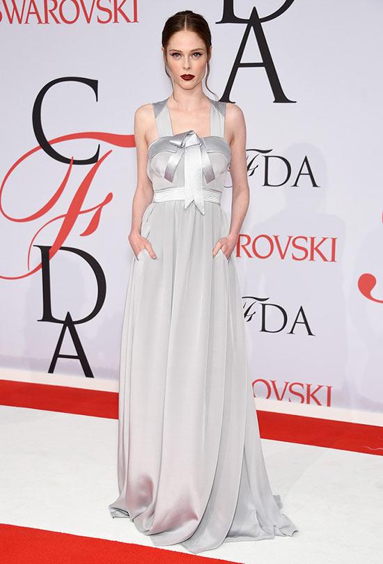2015 CFDA Awards Red Carpet Fashion: Coco Rocha
