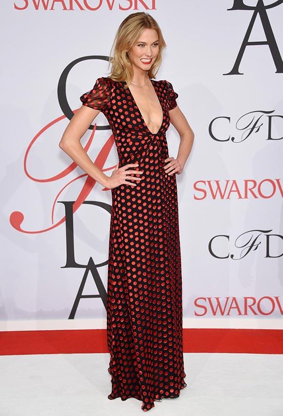 2015 CFDA Awards Red Carpet Fashion: Karlie Kloss