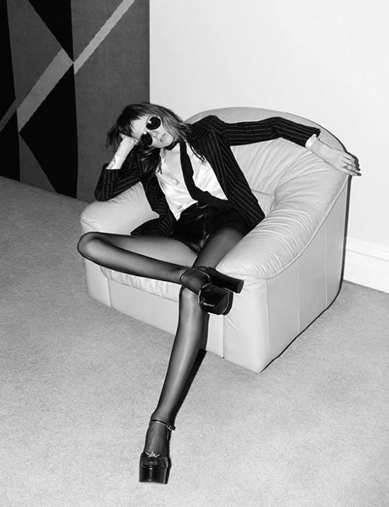 Saint Laurent Campaign Featuring Underweight Model Banned In The UK