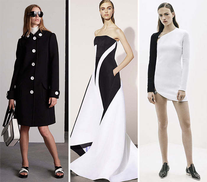 Best Resort 2016 Fashion Trends: Black and White