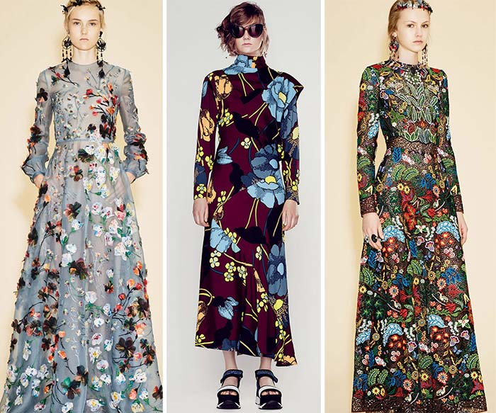 Best Resort 2016 Fashion Trends: Floral Patterns