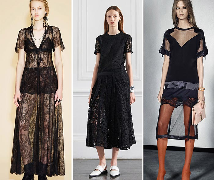 Best Resort 2016 Fashion Trends: Lace