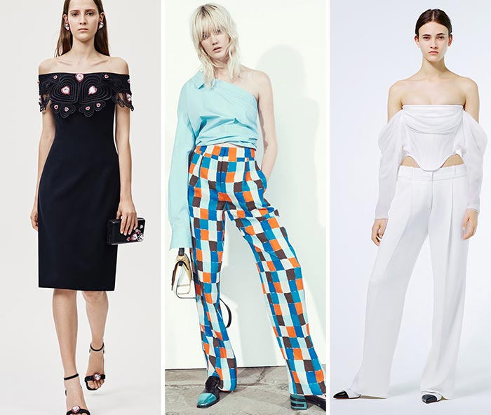 Best Resort 2016 Fashion Trends: Off-the-Shoulder Trend