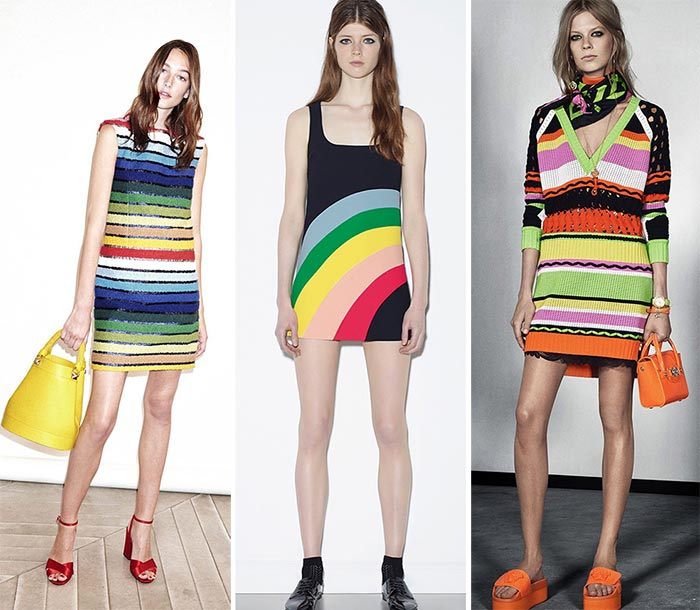 Best Resort 2016 Fashion Trends: Rainbow Colors