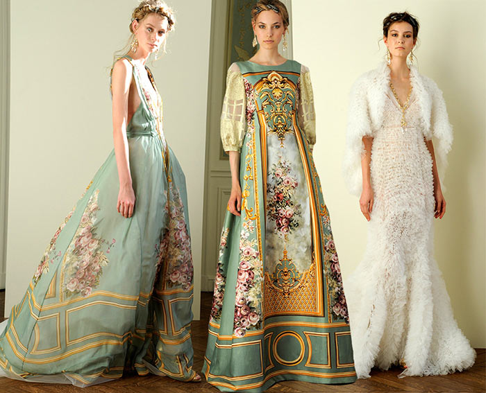 Alberta Ferretti Spring 2016 Evening Collection