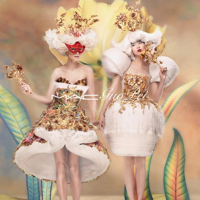 MAC Guo Pei Fall 2015 Makeup Collection