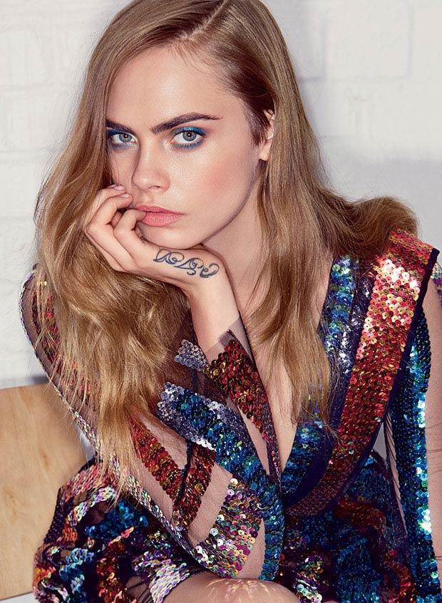 Cara Delevingne Covers Vogue