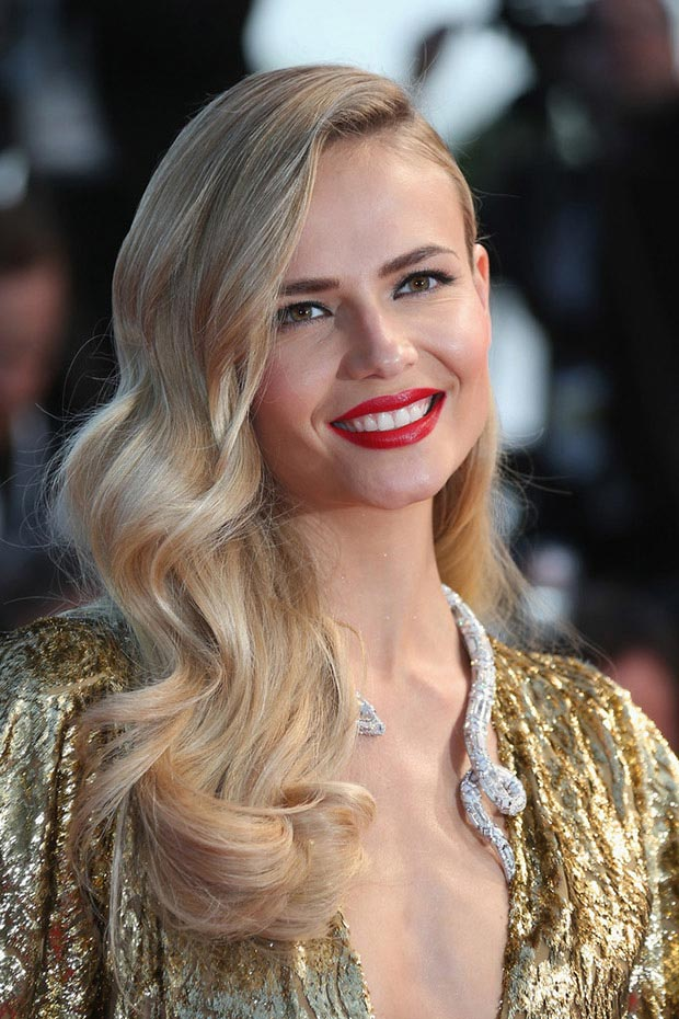 wedding guest hairstyles for summer, Natasha Poly