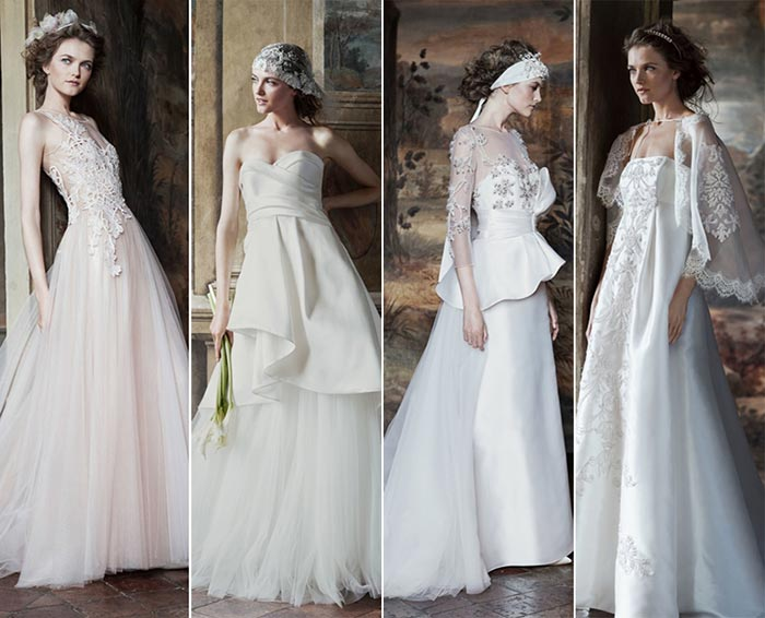 Alberta Ferretti Forever Bridal Spring 2016 Collection