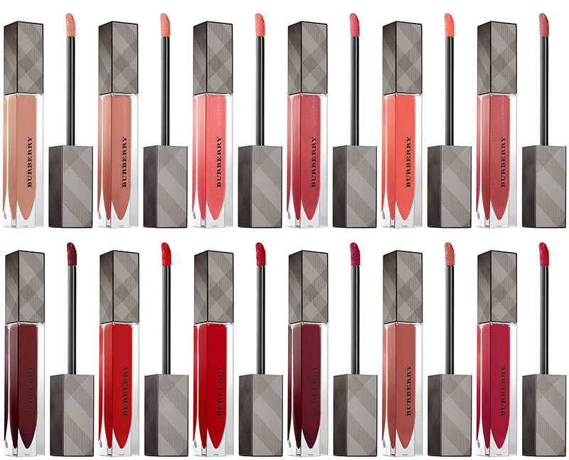 Burberry Fall 2015 Runway Makeup Collection