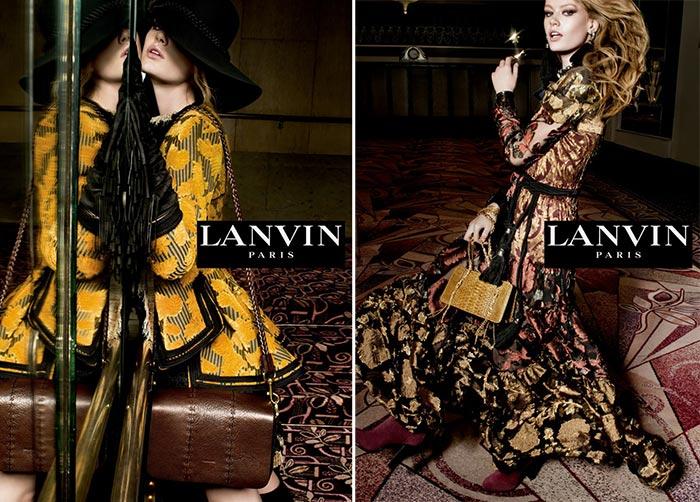 Lanvin Fall 2015 Ad Campaign