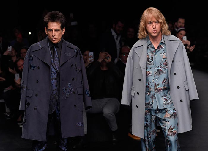 How The  Zoolander Crew Impacted on Valentino's Social Media Engagement