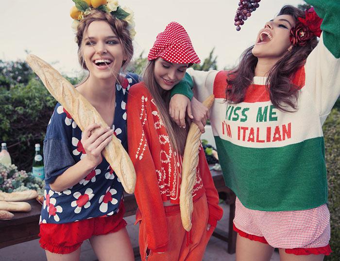 Wildfox Couture La Dolce Vita Fall 2015 Lookbook