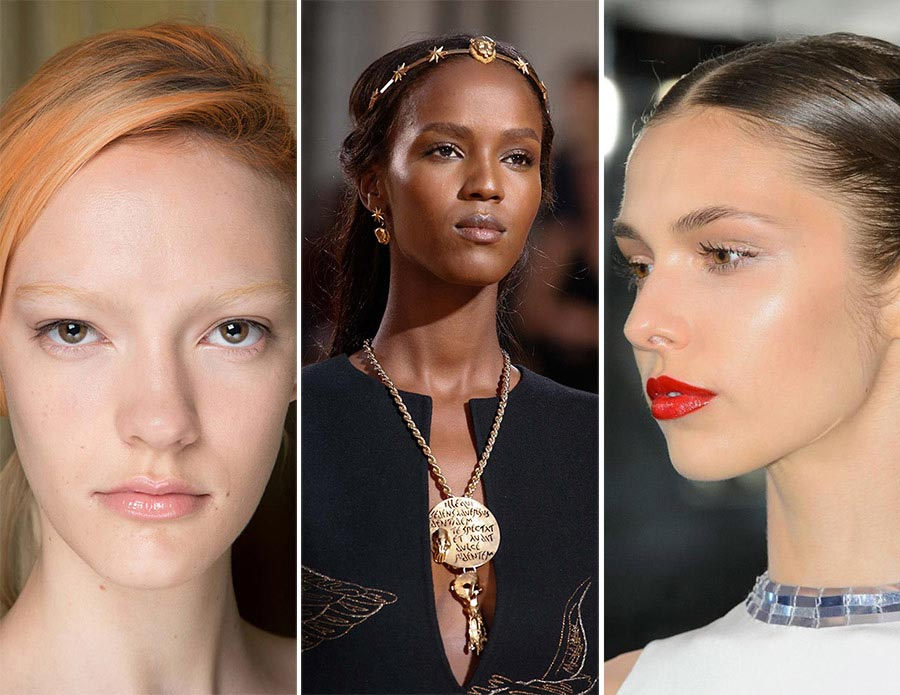 Fall 2015 Couture Beauty Trends: Illuminated skin