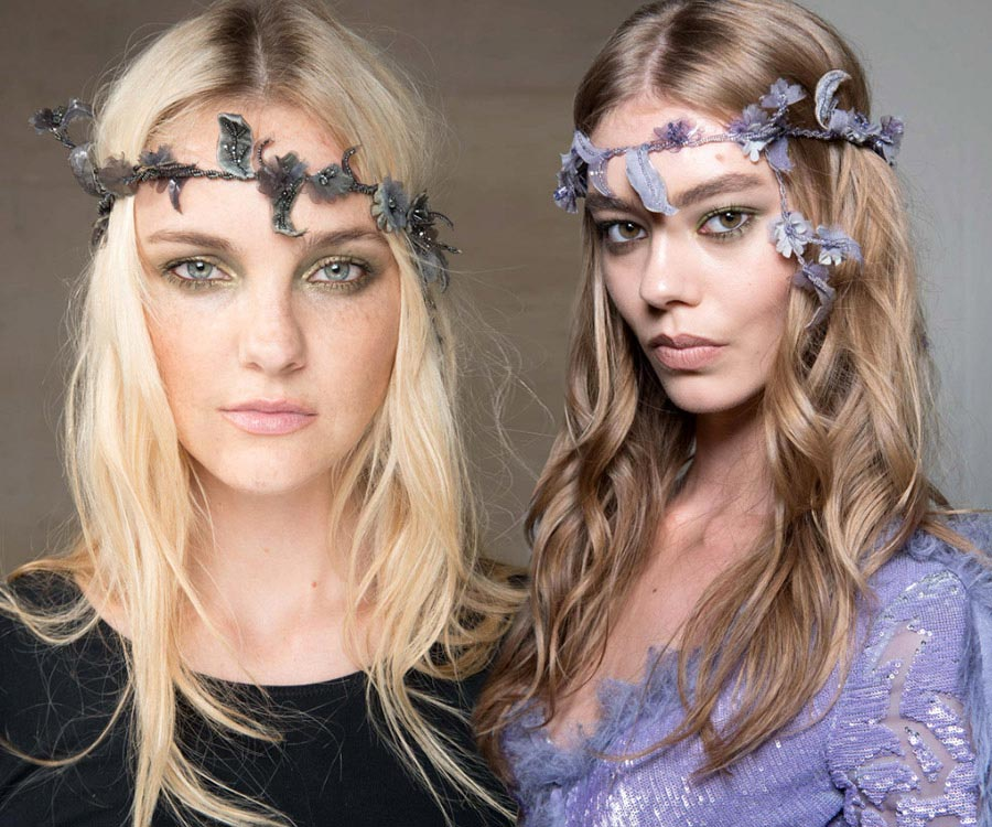 Fall 2015 Couture Beauty Trends: Headbands