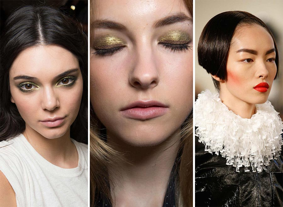 Fall 2015 Couture Beauty Trends: Makeup
