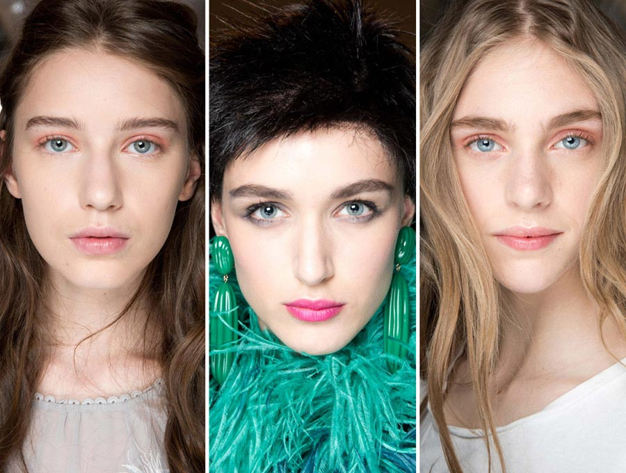 Fall 2015 Couture Beauty Trends: Pink Makeup