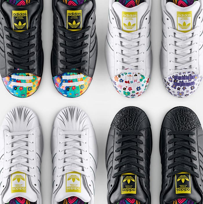 Pharrell Williams and Zaha Hadid for Adidas Originals