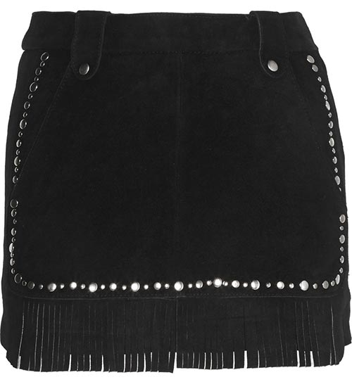 Pretty Summer 2015 Mini Skirts: Maje Fringed Mini Skirt