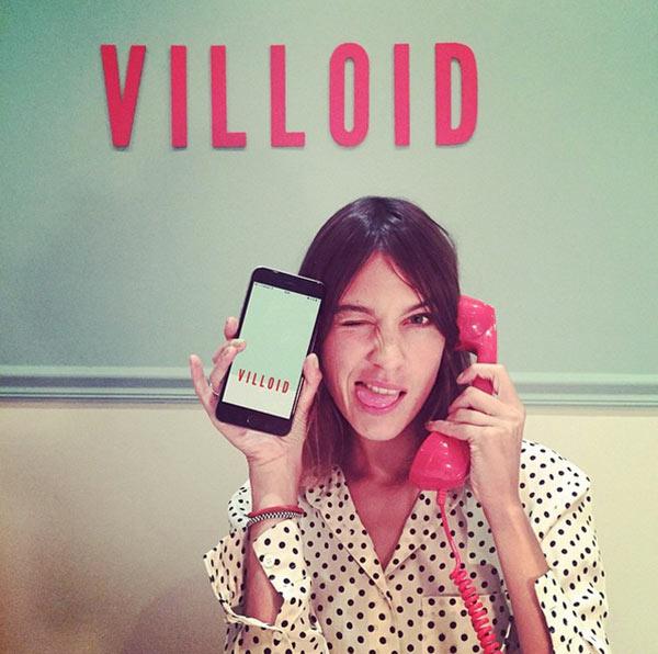 Alexa Chung App Villoid
