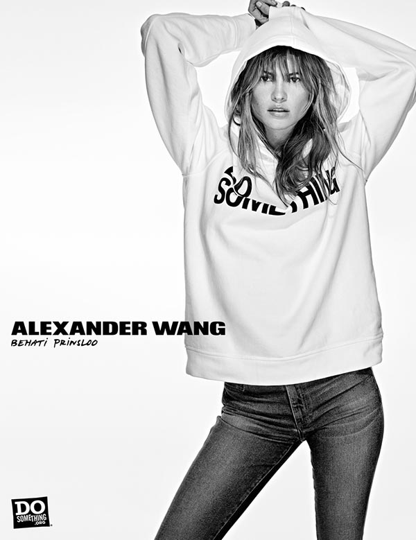 Alexander Wang Do Something Campaign