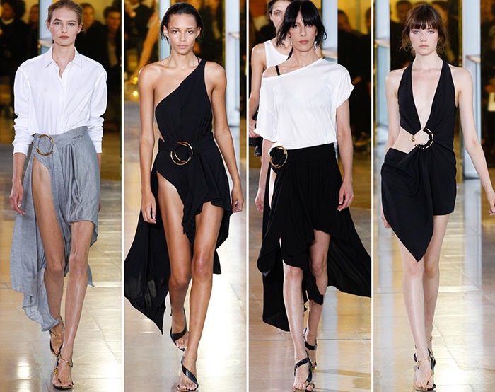 Anthony Vaccarello Spring/Summer 2016 Collection