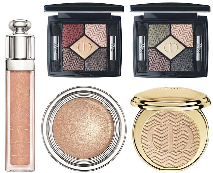 Dior State of Gold Holiday 2015 Makeup Collection