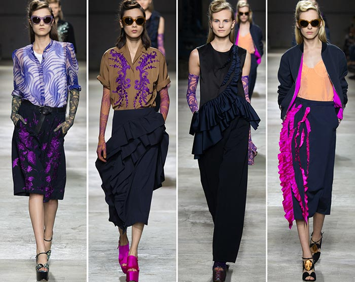 Dries Van Noten Spring/Summer 2016 Collection