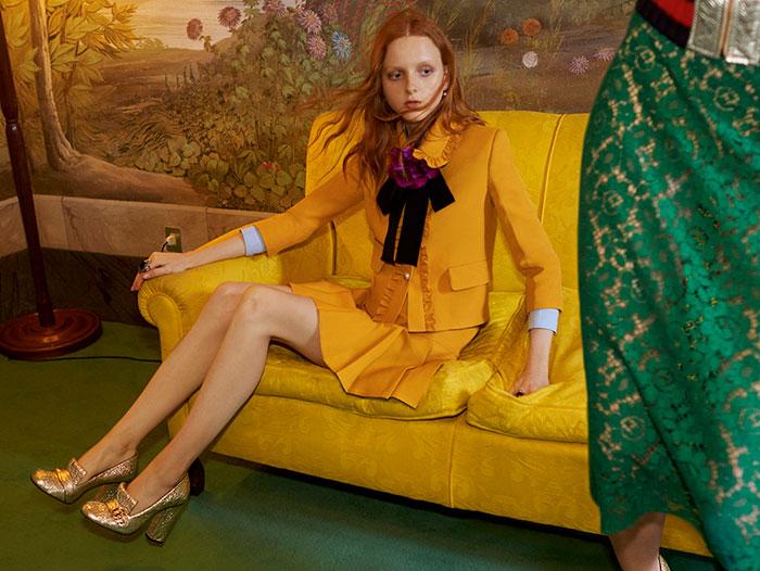 Gucci Resort 2016 Ad Campaign