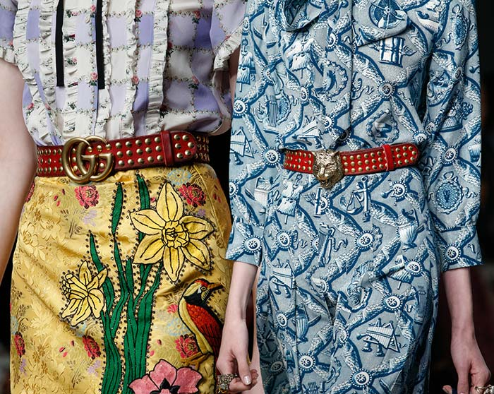 Gucci Spring 2016 Accessories: Belts