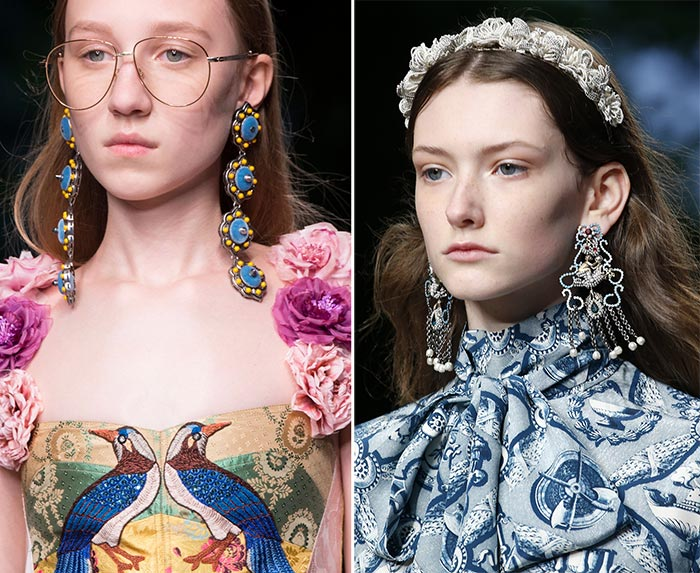 Gucci Spring 2016 Accessories: Earrings
