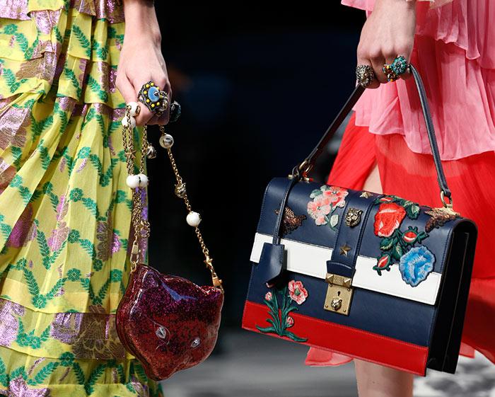 Gucci Spring 2016 Accessories: Handbags