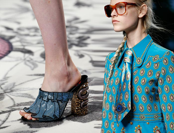 Gucci Spring 2016 Accessories: Shoes