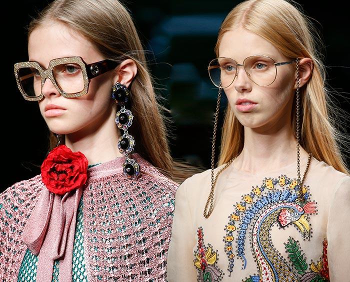 Gucci Spring 2016 Accessories: Sunglasses