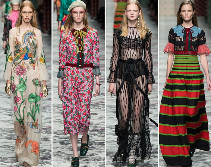 511a24ab6a3 Gucci Spring Summer 2016 Collection - Milan Fashion Week